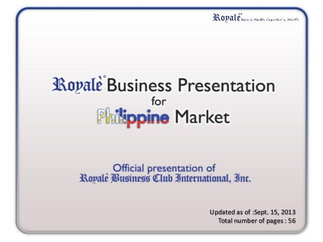 Royale Business Club Beauty Wealth Opportunity
