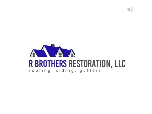 R BROTHERS RESTORATION, LLC specializes in residential & commercial roofing, siding & gutter services, along with hail, st...