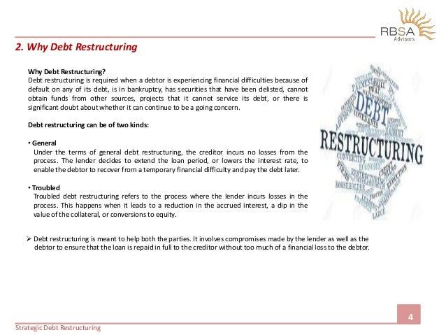 Strategic Debt Restructuring
