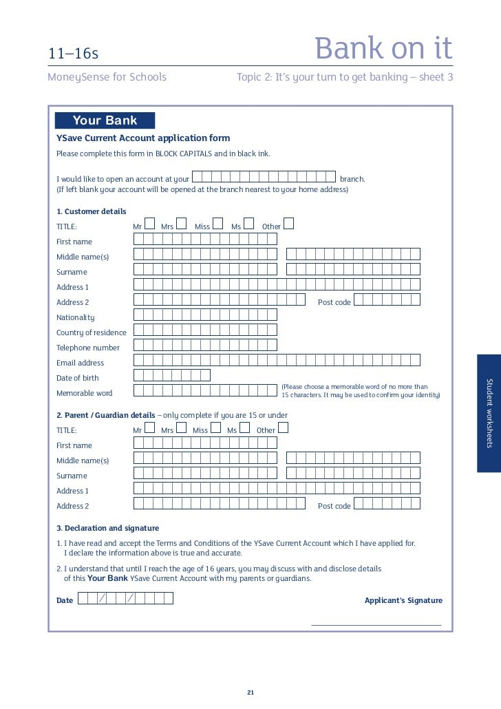 bank of india net banking application form pdf