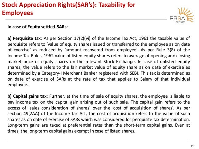 Taxability of employee stock options