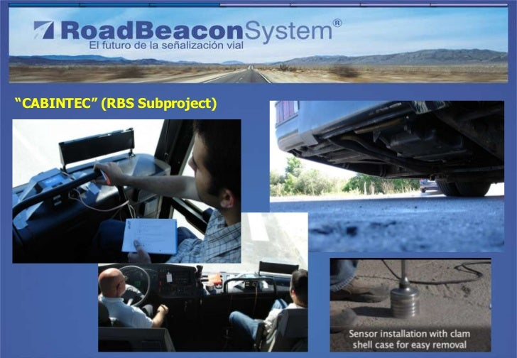 """CABINTEC"" (RBS Subproject)Idiada: High speed test tracks"