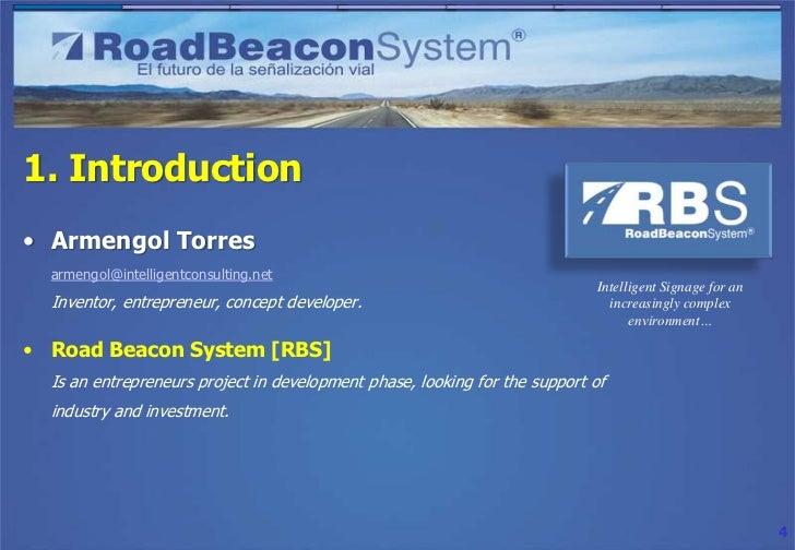 1. Introduction• Armengol Torres  armengol@intelligentconsulting.net                                                      ...