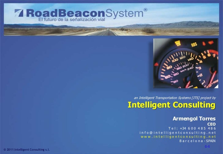 Road Beacon System (RBS) project presentation