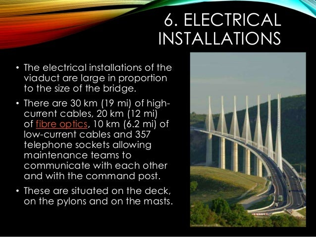 millau viaduct project management The millau viaduct (french: le viaduc de millau, ipa: [vjadyk də mijo]) is a cable-stayed bridge that spans the gorge valley of the tarn near millau in southern france.