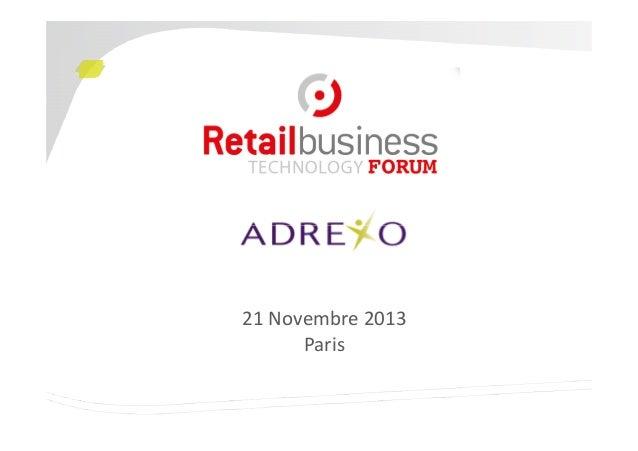 21 Novembre 2013 Paris