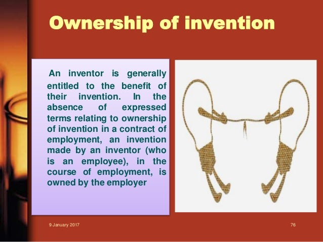 Ownership vs. Inventorship of a Patent
