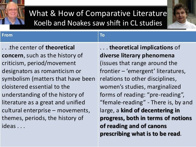 the discipline of comparative literature The discipline of comparative literature has scholarly associations such as the icla: international comparative literature association and comparative literature associations exists in many countries: for a list of such see bcla: british comparative literature association for the us, see acla: american comparative literature association.