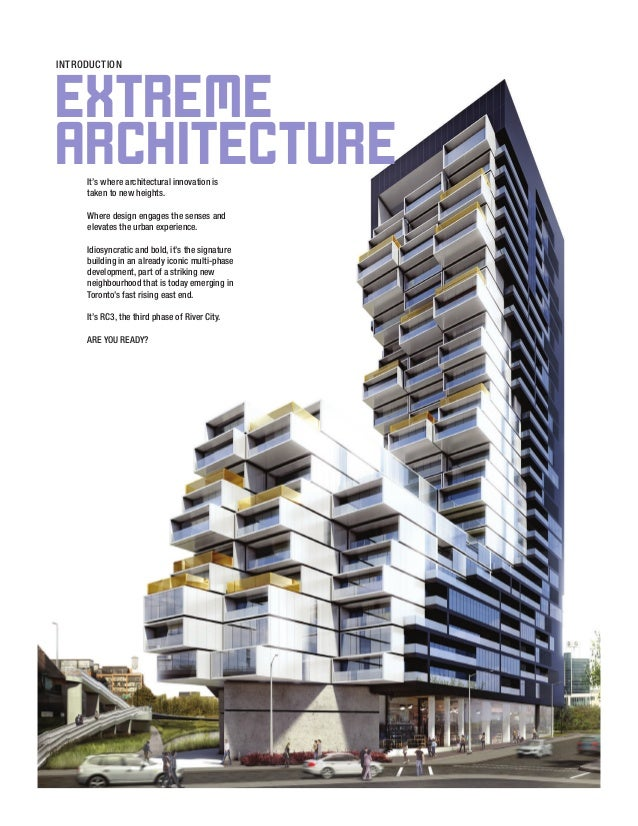 It's where architectural innovation is taken to new heights. Where design engages the senses and elevates the urban experi...