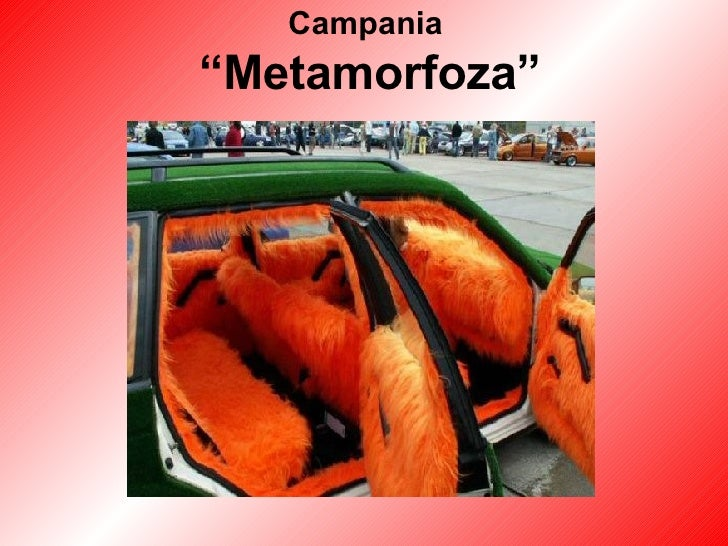 "Campania  ""Metamorfoza"""