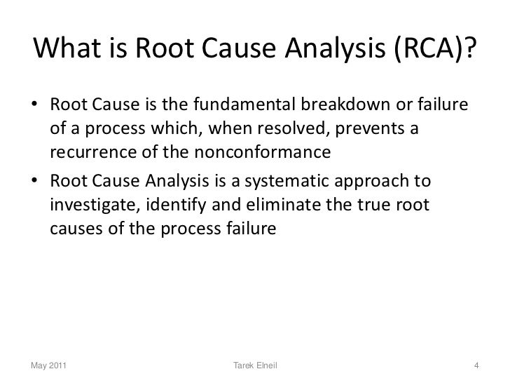 root cause analysis case studies Root cause analysis (rca) – axial compressor example or thermal problems before failure takes place, and (c) performing root cause analysis case studies.