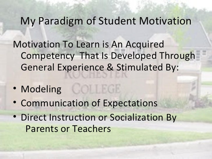 motivate students to learn Motivating unmotivated students can be challenging, but these students need us to invest in them, believe in them, and inspire them to learn here's a few ideas how we can do just that.