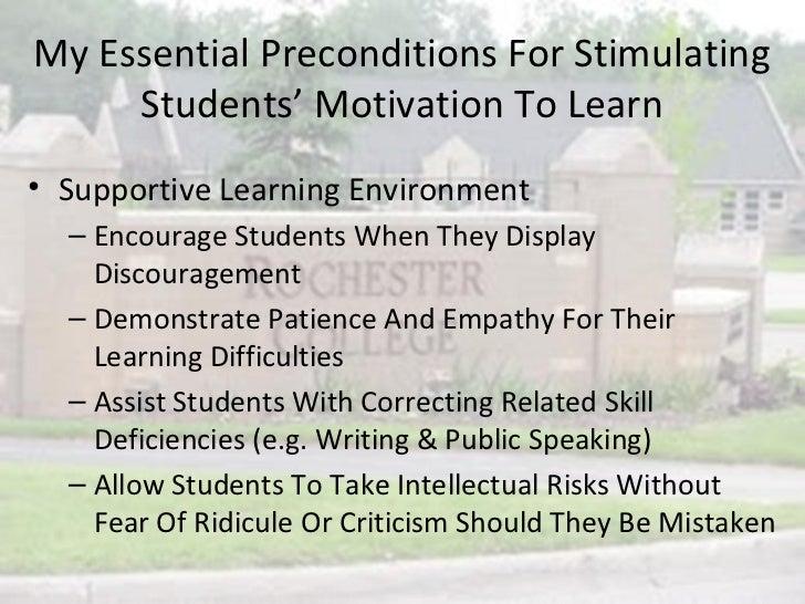 How Can A Teacher Motivate Students Education Essay