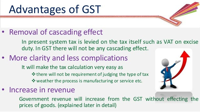 cascading effect of taxes Read more about gst will mitigate the cascading effect of taxation : cii on business standard talking about the objective of having this workshop, mr khurana said that it is important for industry to understand the impact and opportunities offered by this particular piece of legislation.
