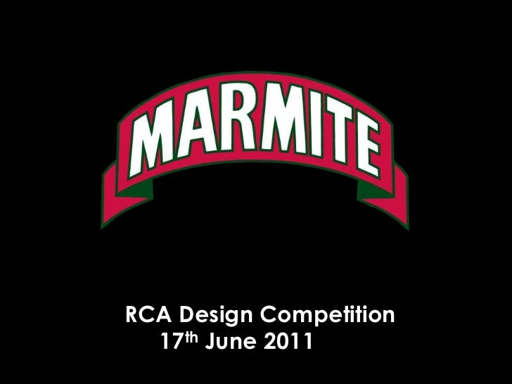 RCA Design Competition <br />	17th June 2011<br />