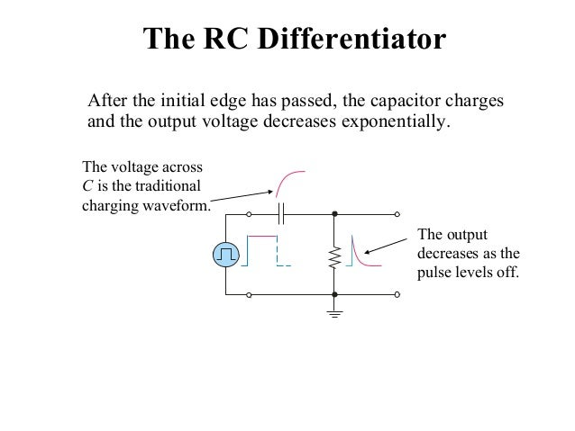 Fabulous Rc Circuit Waveform Basic Electronics Wiring Diagram Wiring Cloud Pimpapsuggs Outletorg