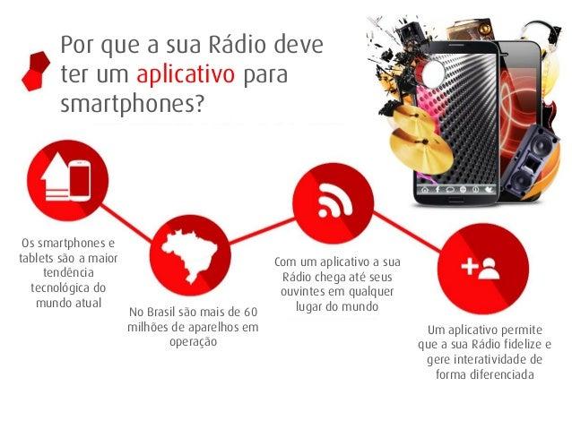 Por que a sua Rádio deve ter um aplicativo para smartphones?  Os smartphones e tablets são a maior tendência tecnológica d...