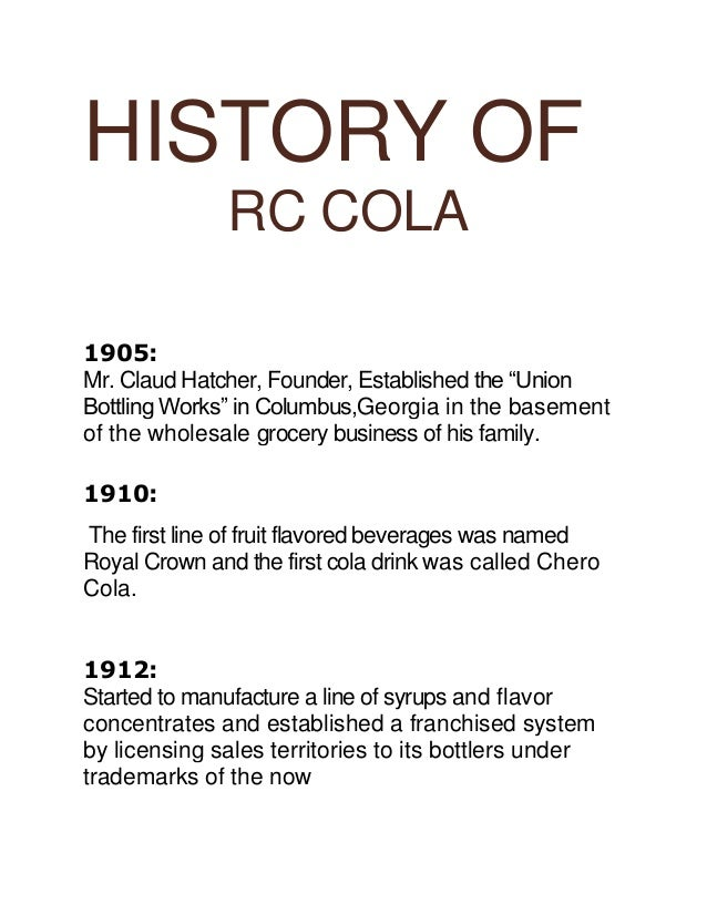 List of citrus soft drinks