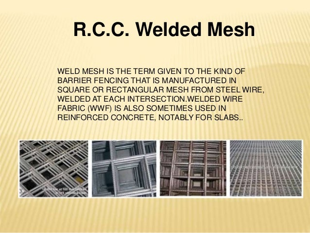 Welded wire mesh and rcc welded mesh for construction for Rcc home show
