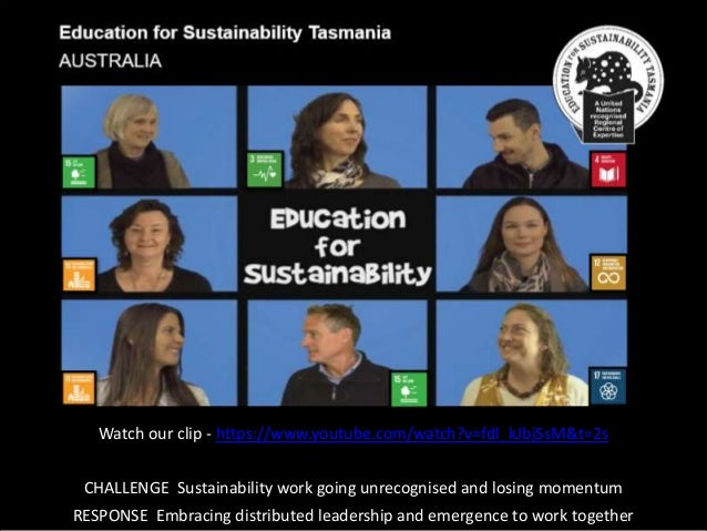 Watch our clip - https://www.youtube.com/watch?v=fdl_kJbjSsM&t=2s CHALLENGE Sustainability work going unrecognised and los...