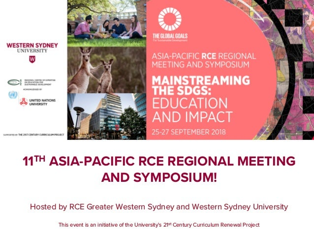 Hosted by RCE Greater Western Sydney and Western Sydney University This event is an initiative of the University's 21st Ce...