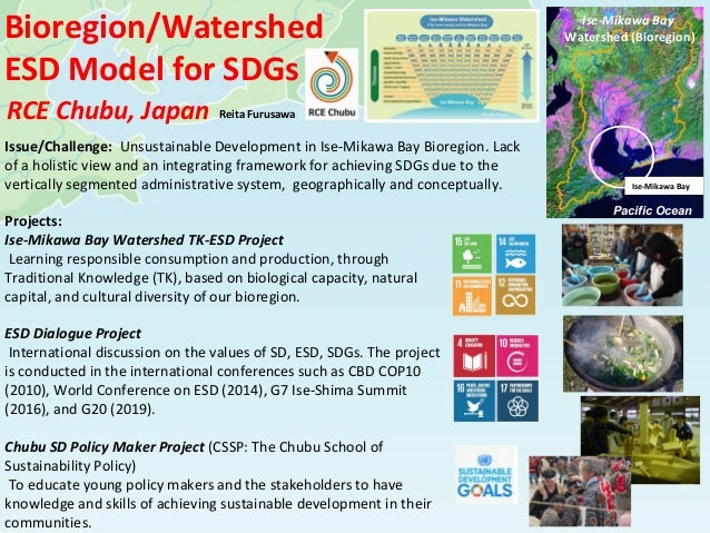 Projects: Ise-Mikawa Bay Watershed TK-ESD Project Learning responsible consumption and production, through Traditional Kno...