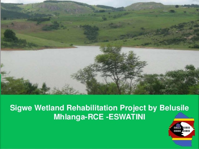 Sigwe Wetland Rehabilitation Project by Belusile Mhlanga-RCE -ESWATINI