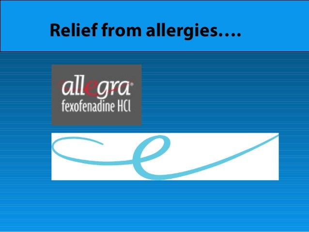 Relief from allergies….