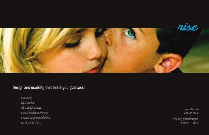 Design and usability that beats your first kiss.      branding      web design      web applications                      ...