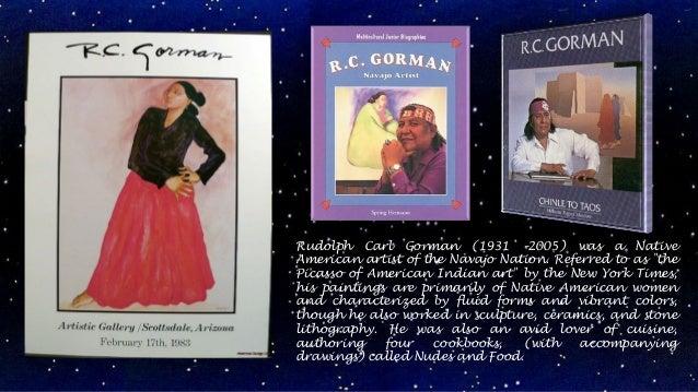 Rudolph Carl Gorman (1931 –2005)3 Slide 2