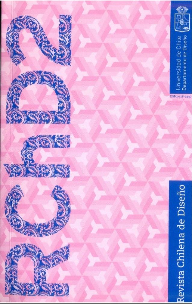 RCHD2, Revista Chilena de Diseño Nº2