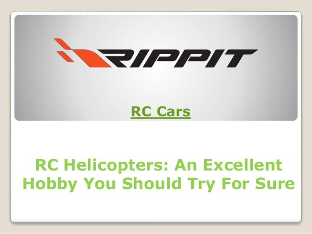 RC Helicopters: An Excellent Hobby You Should Try For Sure RC Cars