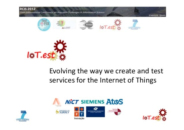 Evolving the way we create and test services for the Internet of Things