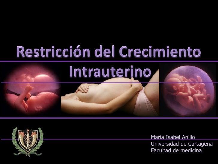 María Isabel AnilloUniversidad de CartagenaFacultad de medicina