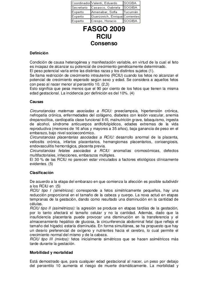 FASGO 2009                                        RCIU                                    ConsensoDefiniciónCondición de c...
