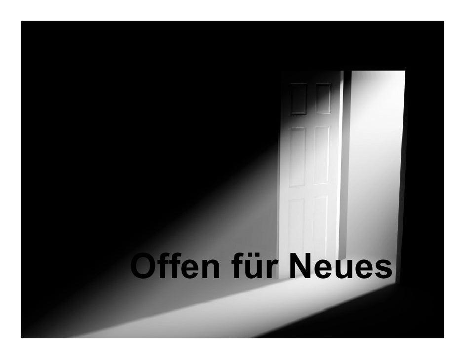 Offen für Neues © 2006   1