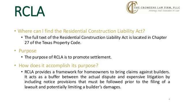 Rcla Demand Letter Example Household