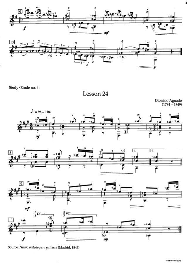 dionisio aguado study in a minor pdf