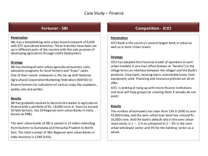 case analysis sbi kohinoor business m Pgdm industry immersion project kohinoor business school  page 1 comparative analysis of npa through rise  post graduate  diploma in management from kohinoor business school,  continuous  authorization: there is a case for reviewing the present 'stop and go'.