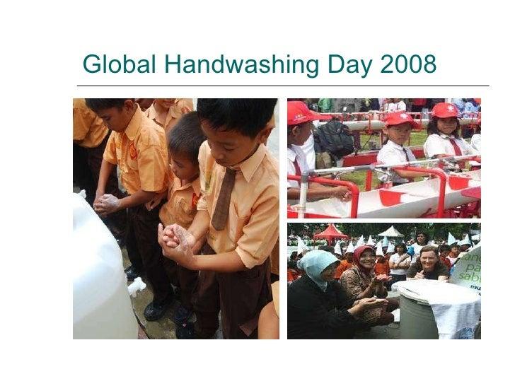 Global Handwashing Day 2008
