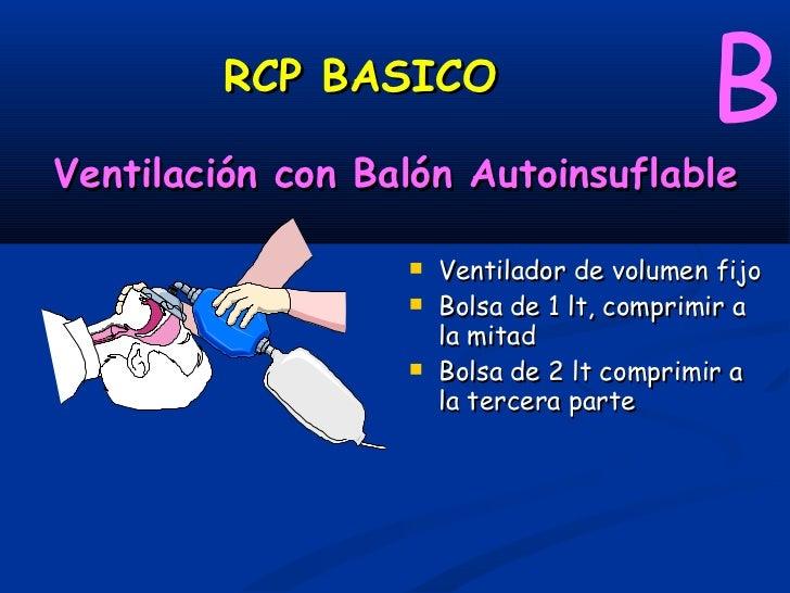 RCP BASICO       VENTILACION             BBOLSA DE VENTILACION AUTOINSUFLABLE