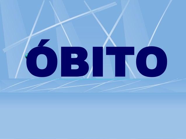 ÓBITO