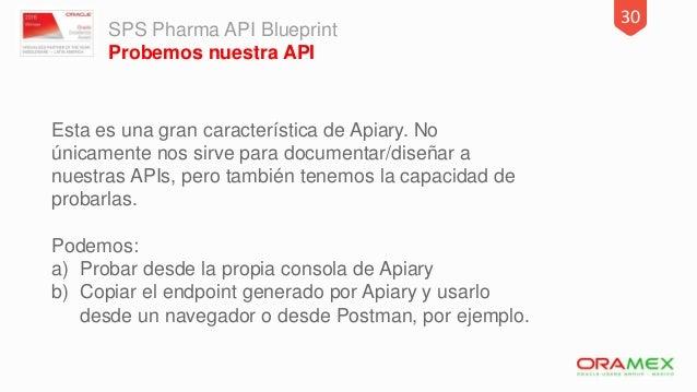 Apiary workshop 31 sps pharma api blueprint malvernweather Images