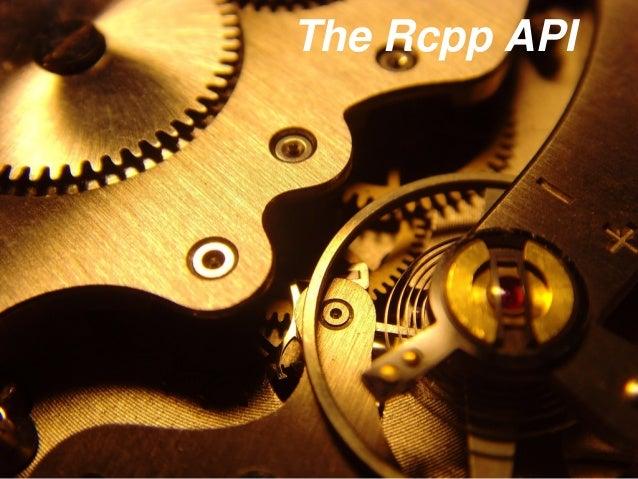 The Rcpp API