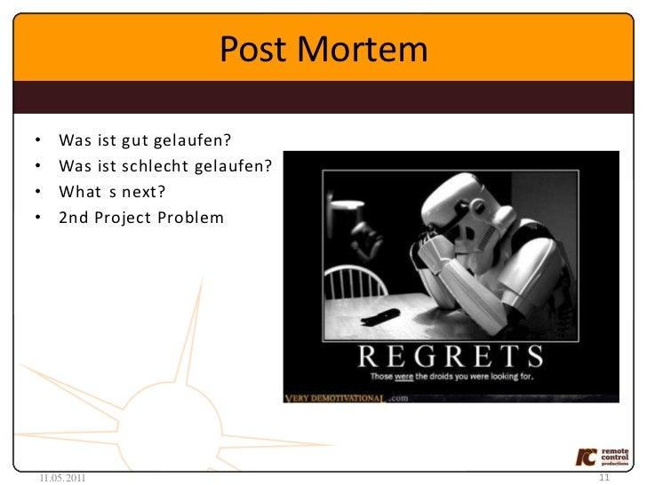 Pre-Pre-Production<br /><ul><li>ProofofFun