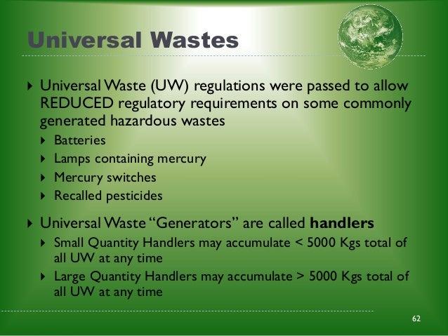 Rcra Training Basics Waste Site Mangement Us Army