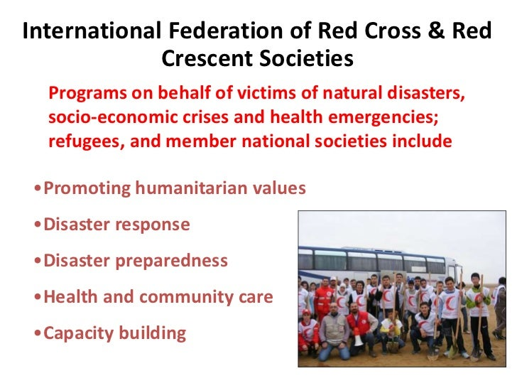 Red Cross Natural Disaster Training
