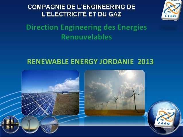 RENEWABLE ENERGY JORDANIE 2013