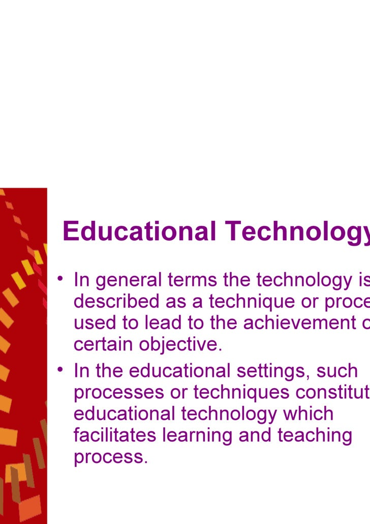 an analysis of the technology and education So, do educational technologies 'work' to improve literacy a tertiary analysis ( that is, a review of a series of meta-analyses)4 summarized all available.