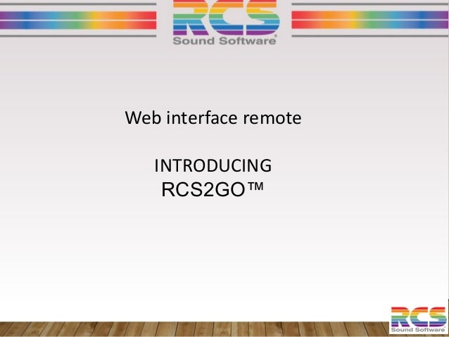 RCS Radio-as-a-Service @ European Radio and Digital Audio